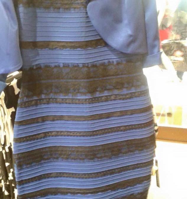 #TheDress: di che colore è il vestito?