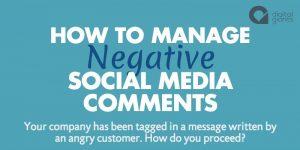 Come gestire i commenti negativi sui social?