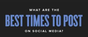 Social network: l'orario migliore per pubblicare un post