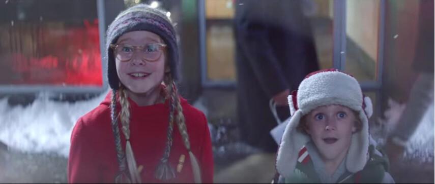 """Pubblicità di Natale – Macy's """"Wish Writer"""""""
