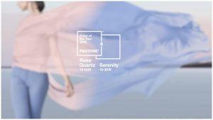 Pantone. Due i colori del 2016: Rosa Quarzo e Serenity