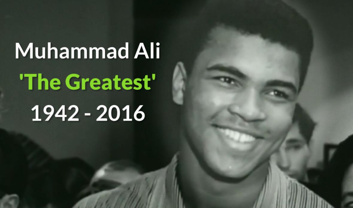 Ricordando Muhammad Alì: l'amico indistruttibile del coraggio