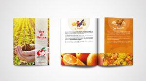 brochure rossa di sicilia portfolio
