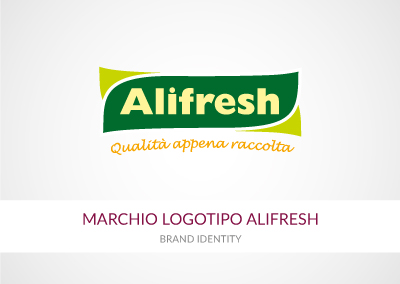 MARCHIO LOGOTIPO ALIFRESH