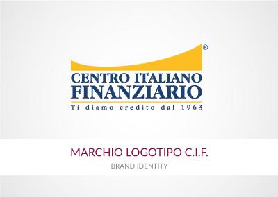 MARCHIO LOGOTIPO CENTRO ITALIANO FINANZIARIO