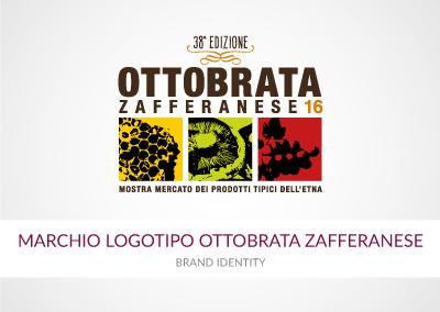 MARCHIO LOGOTIPO OTTOBRATA ZAFFERANESE
