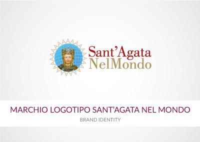 MARCHIO LOGOTIPO SANT'AGATA NEL MONDO