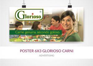 poster 6x3 glorioso