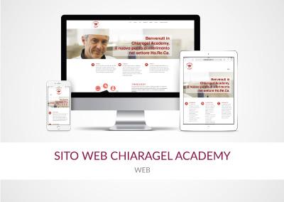 SITO WEB CHIARAGEL ACADEMY