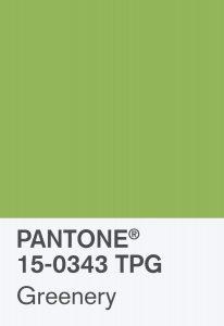 Pantone. Greenery è il colore del 2017