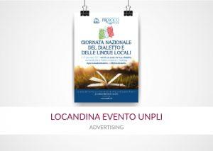 locandina evento unpli portfolio