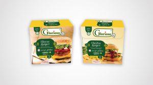 packaging burger glorioso carni