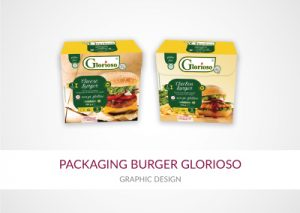 packaging burger glorioso carni