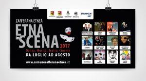 poster 6x3 Etna in Scena