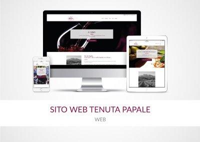 SITO WEB TENUTA PAPALE