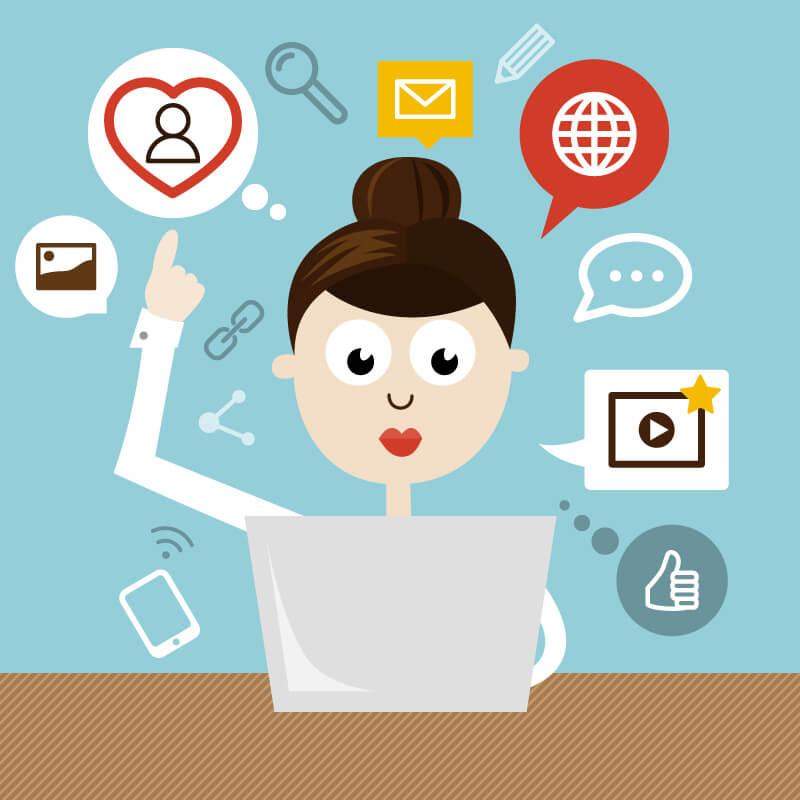 Errori di social media marketing? Un'infografica risolutiva