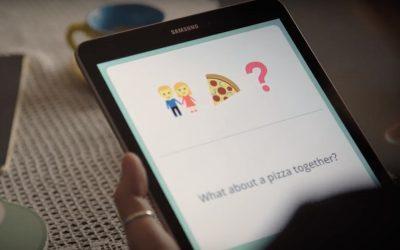 Comunicare senza parole con l'app Samsung Wemogee