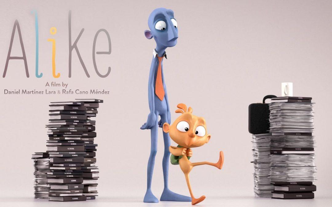 """Alike, il corto che la dice lunga sul """"colore"""" delle persone"""