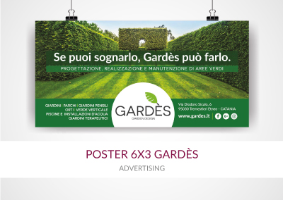 POSTER 6×3 GARDÈS