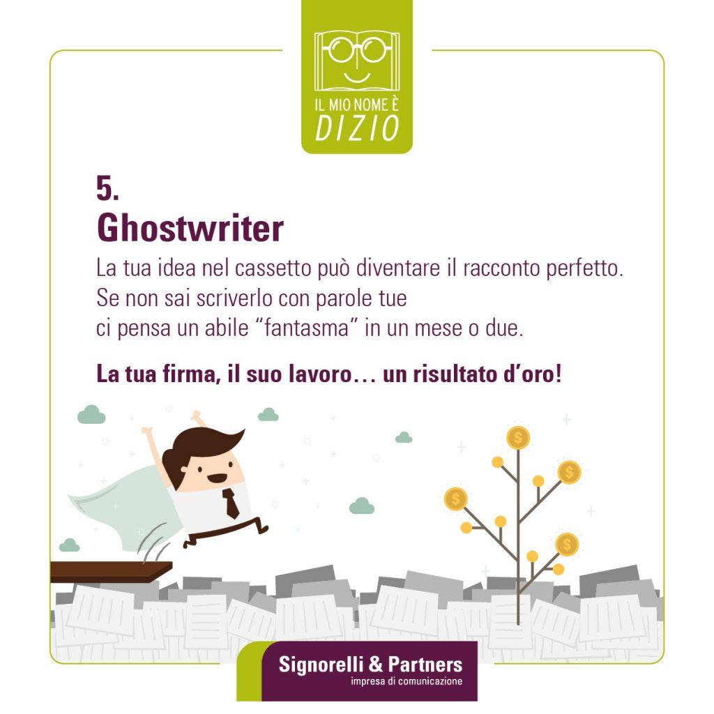 Ghostwriter - Parole strane che circolano sul web