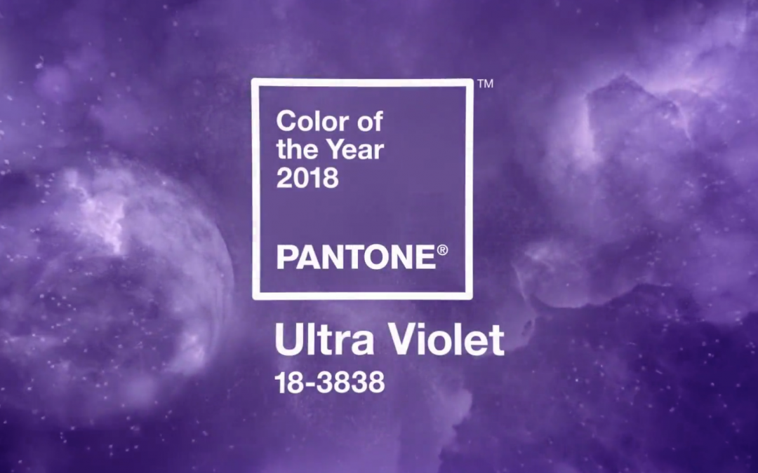 Il 2018 è Ultra Violet: il colore Pantone dell'anno