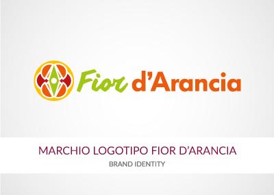 MARCHIO LOGOTIPO FIOR D'ARANCIA