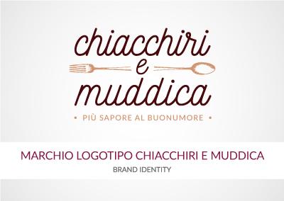 MARCHIO LOGOTIPO CHIACCHIRI E MUDDICA