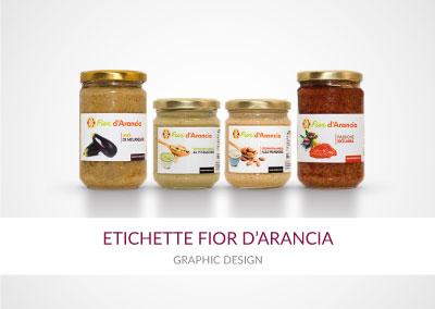 ETICHETTE FIOR D'ARANCIA