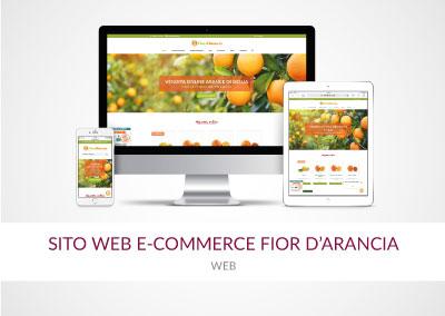 SITO WEB E-COMMERCE FIOR D'ARANCIA