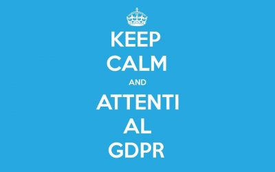 GDPR… questione di privacy!