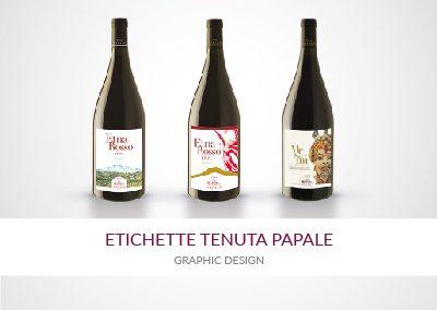 ETICHETTE TENUTA PAPALE